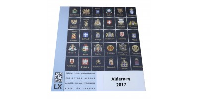 Alderney 2017 Luxury Hingeless Supplement